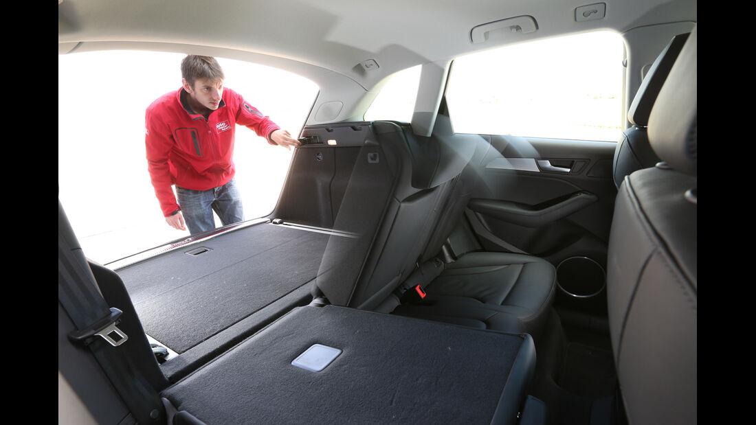 Audi Q5 3.0 TDI Clean Diesel, Laderaum