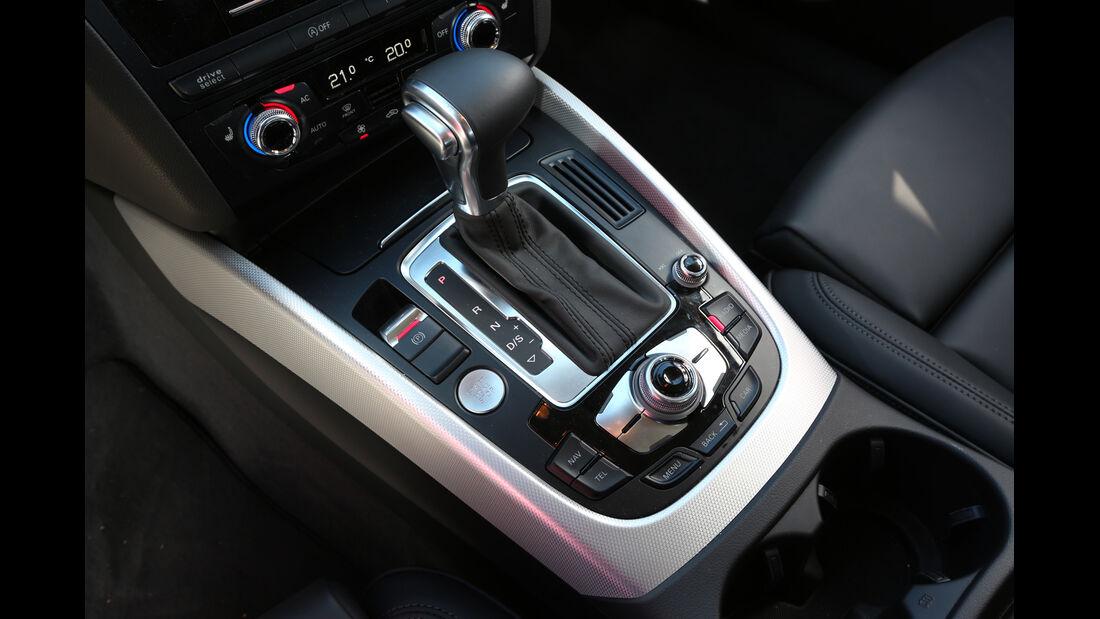 Audi Q5 3.0 TDI Clean Diesel, Schalthebel, Bedienelemente