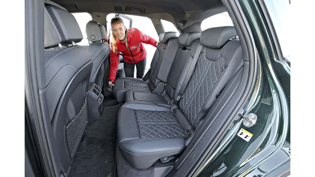 Audi Q5 3.0 TDI Quattro, Interieur