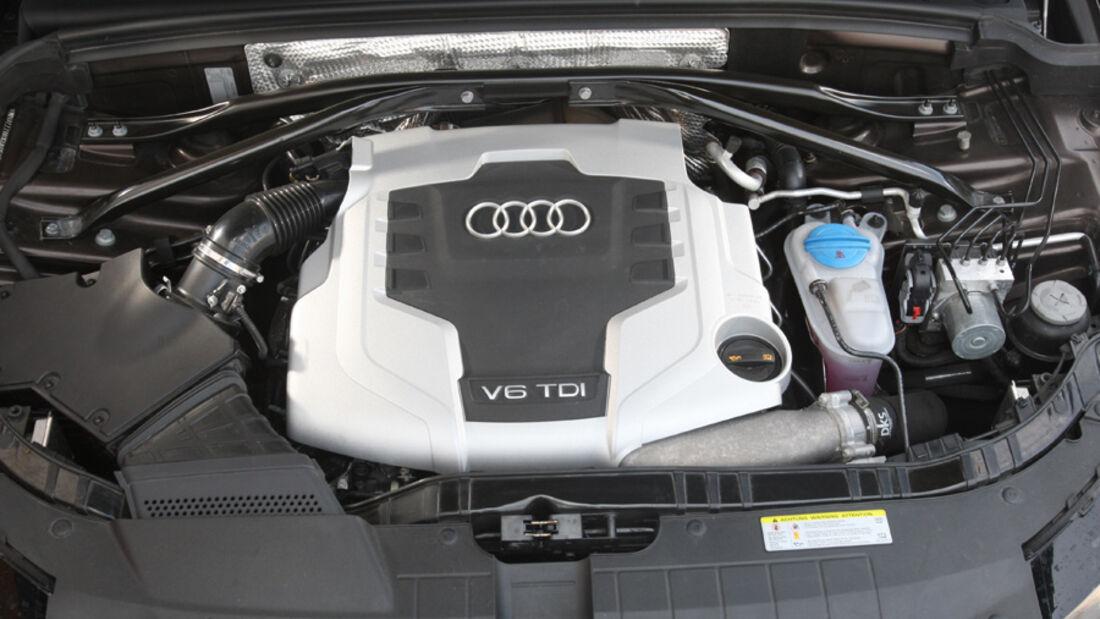 Audi Q5 3.0 TDI Quattro, Motorraum, Motor
