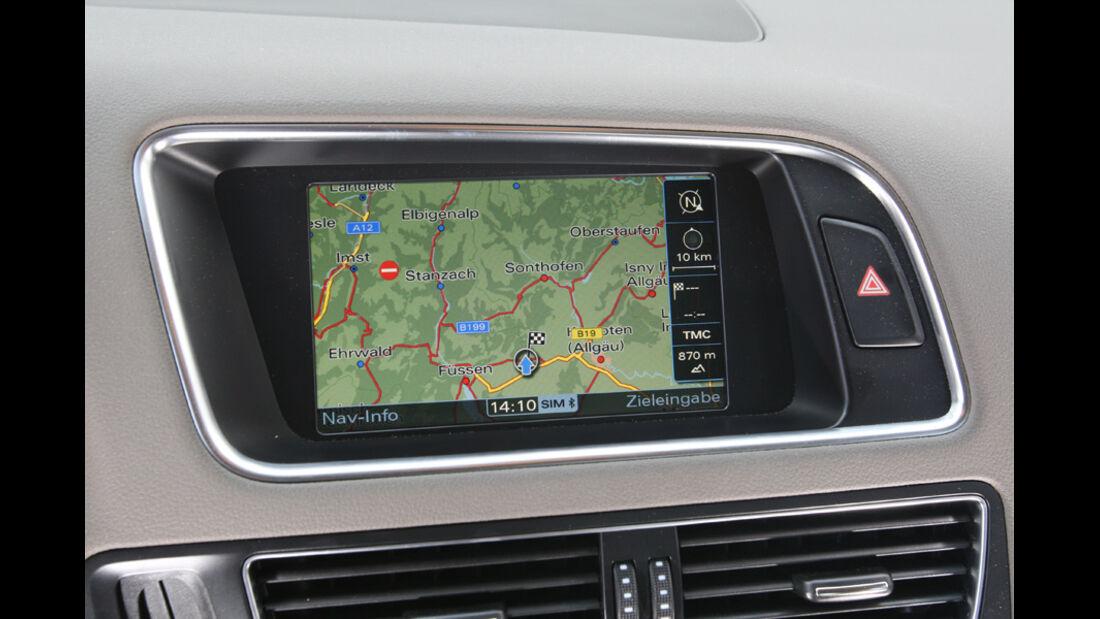 Audi Q5 3.0 TDI Quattro, Navigationssystem, Bildschirm