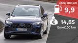 Audi Q5 45 TFSI Quattro S line Realverbrauch