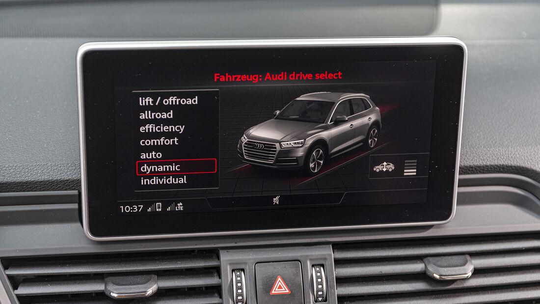 Audi Q5 45 TFSI Quattro Sport, Interieur