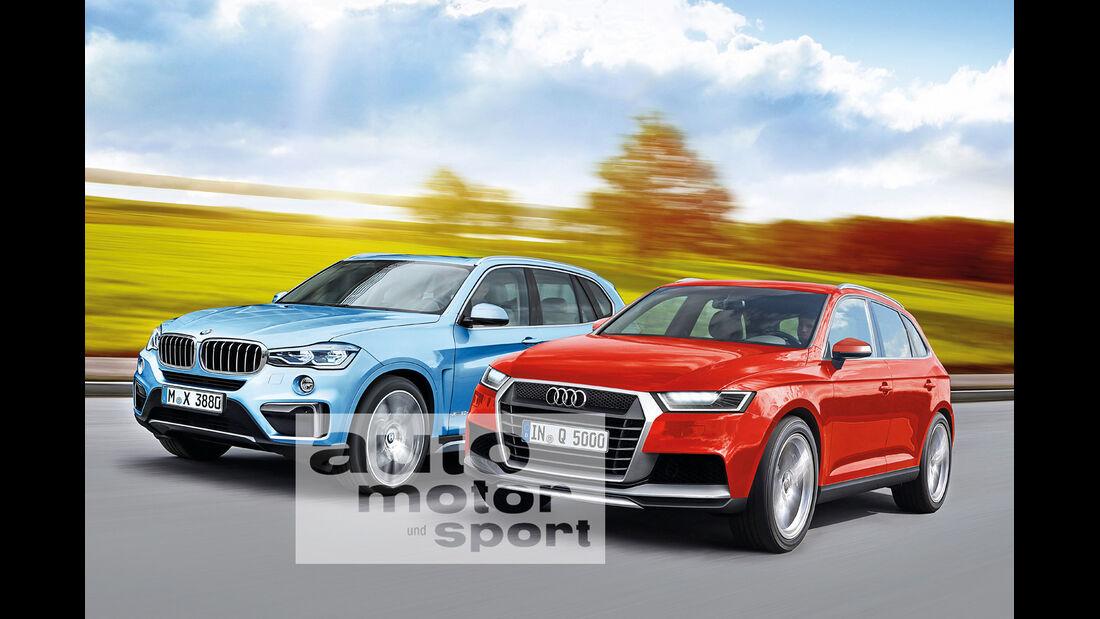 Audi Q5, BMW X3
