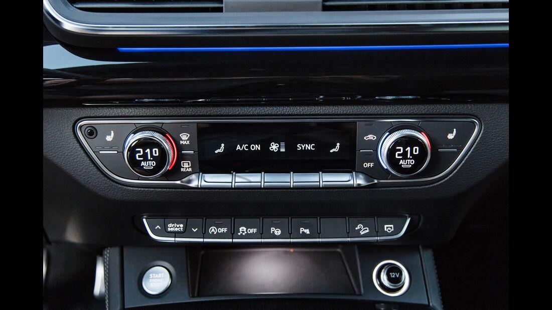 Audi Q5, Bedienelemente