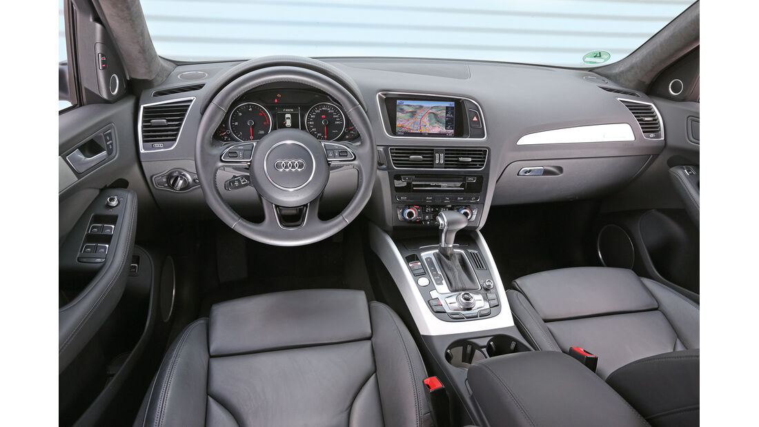 Audi Q5, Cockpit