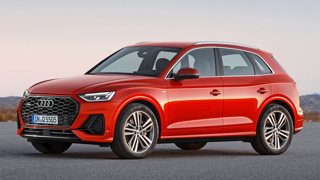 Audi Q5, Exterieur