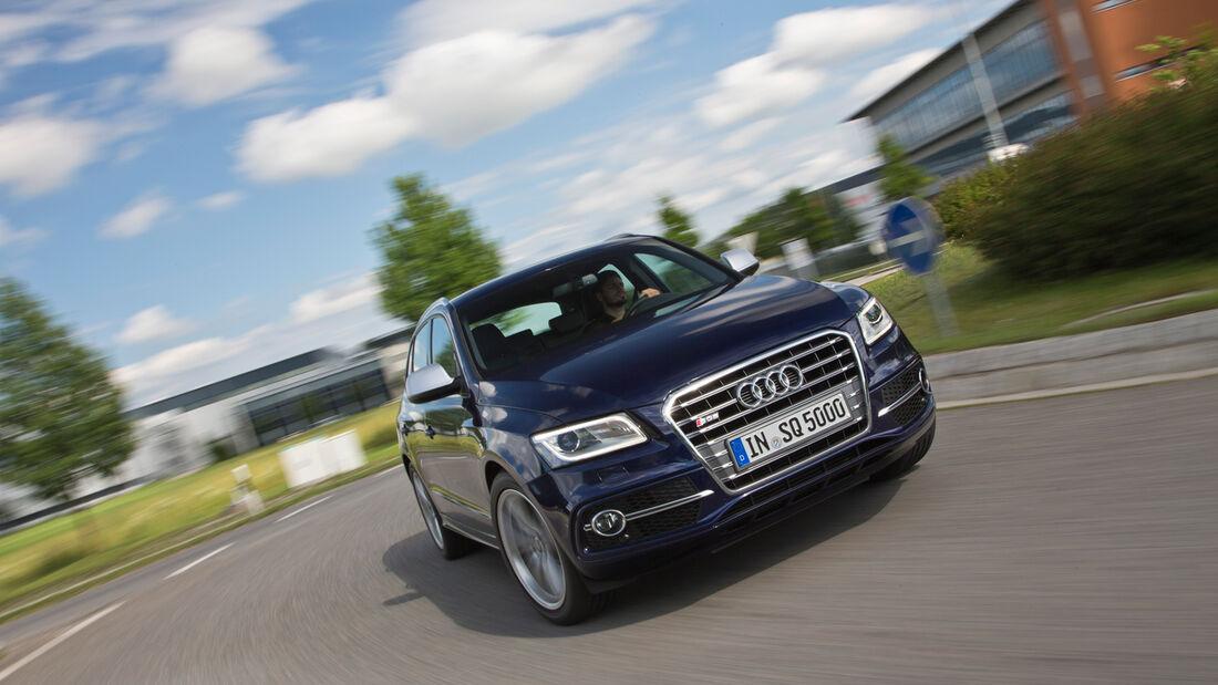Audi Q5, Frontansicht