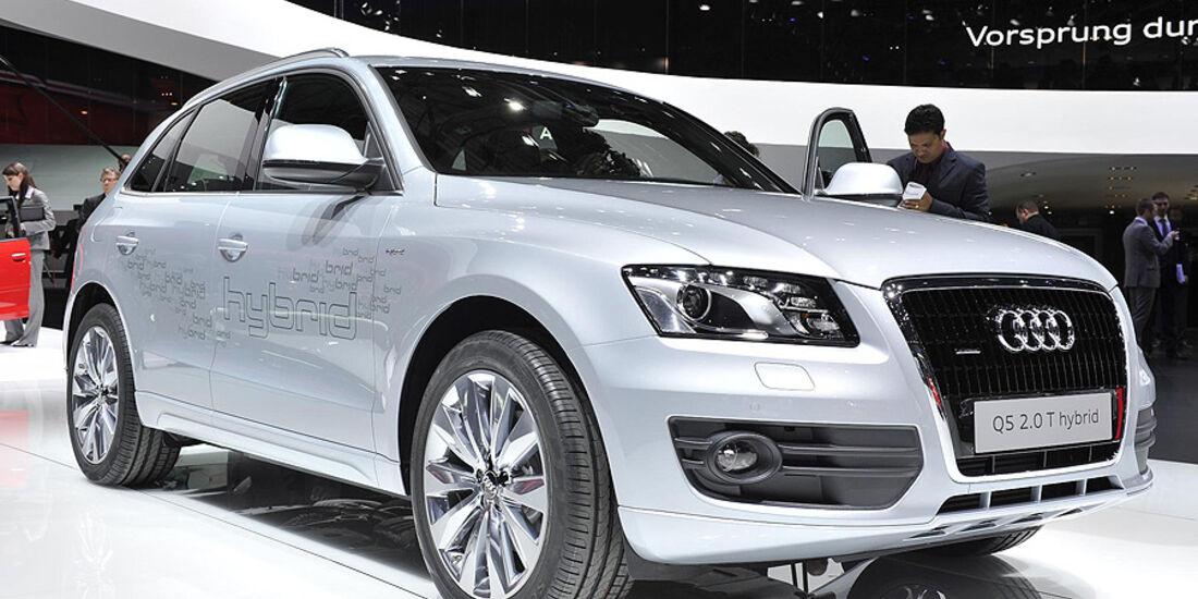 Audi Q5 Hybrid Autosalon Genf 2011