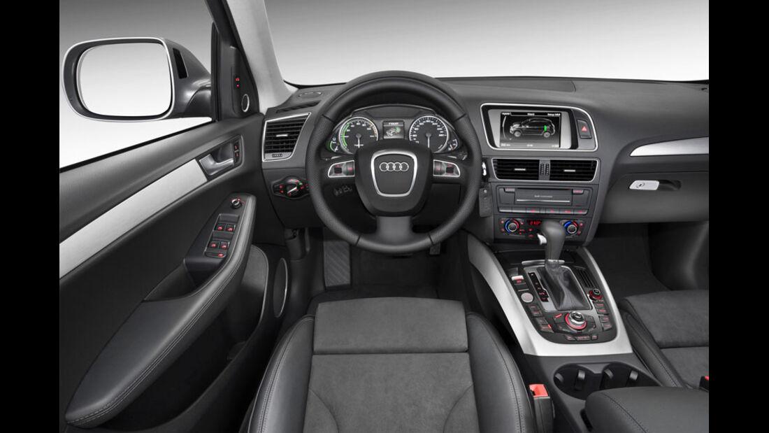 Audi Q5 Hybrid, Innenraum, Cockpit