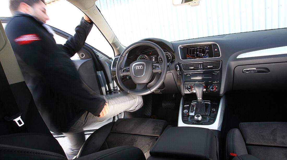 Audi Q5 Hybrid Quattro, Cockpit