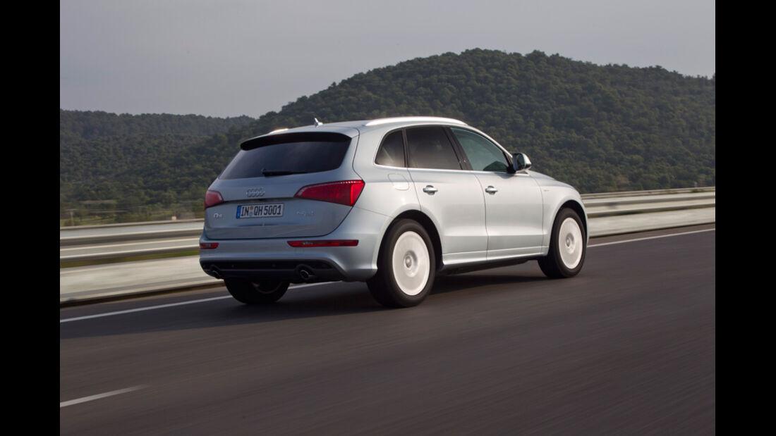 Audi Q5 Hybrid, Seitenansicht