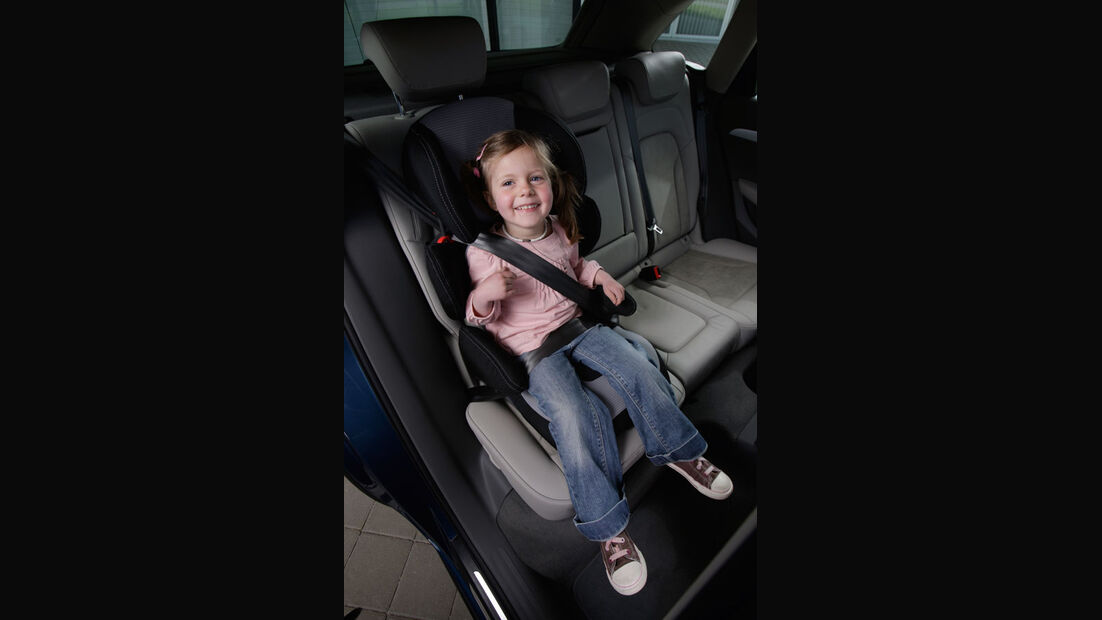Audi Q5 Kaufberatung, Kindersitz