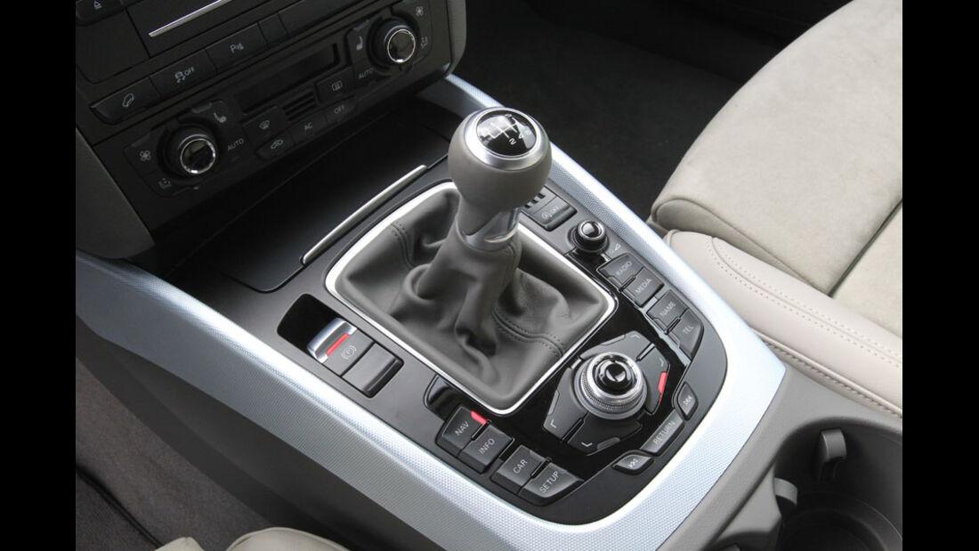 Audi Q5 Kaufberatung, Schaltgetriebe