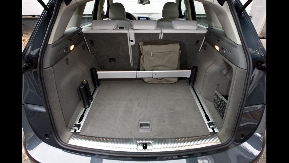 Audi Q5 Kaufberatung, Schienen-System