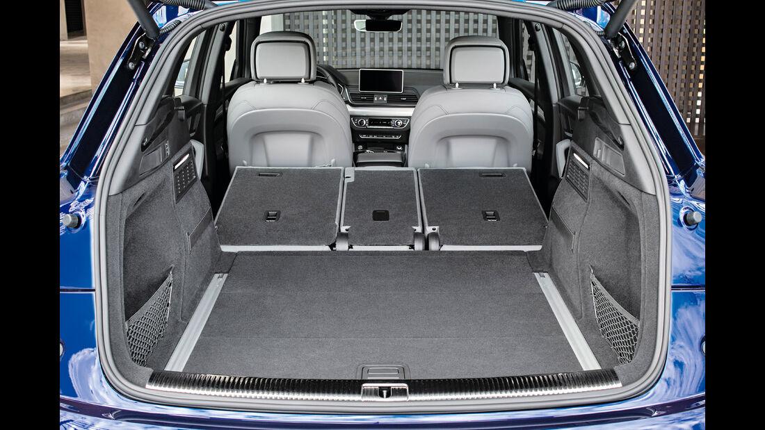 Audi Q5, Kofferraum