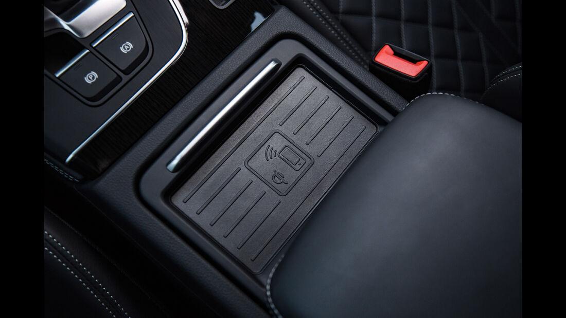 Audi Q5, Mittelkonsole