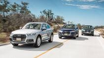 Audi Q5, Modelltypen
