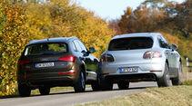 Audi Q5, Porsche Macan, Heckansicht