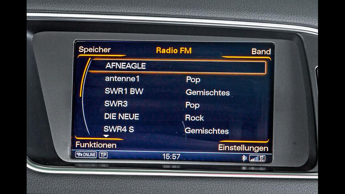 Audi Q5, Radio