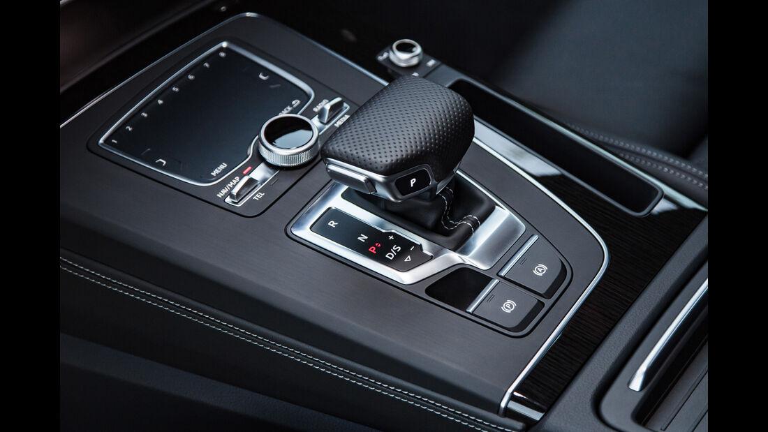 Audi Q5, Schalthebel