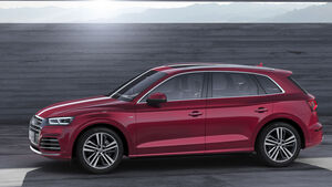 Audi Q5L Langversion China