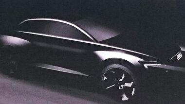 Audi Q6 Teaser