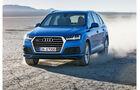 Audi Q7 2015 Fahraufnahme