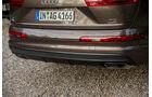 Audi Q7 3.0 TDI, Auspuff, Endrohr