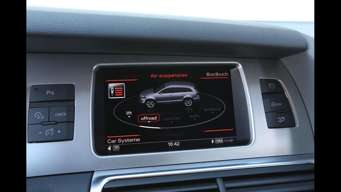 Audi Q7 3.0 TDI, Bordcomputer