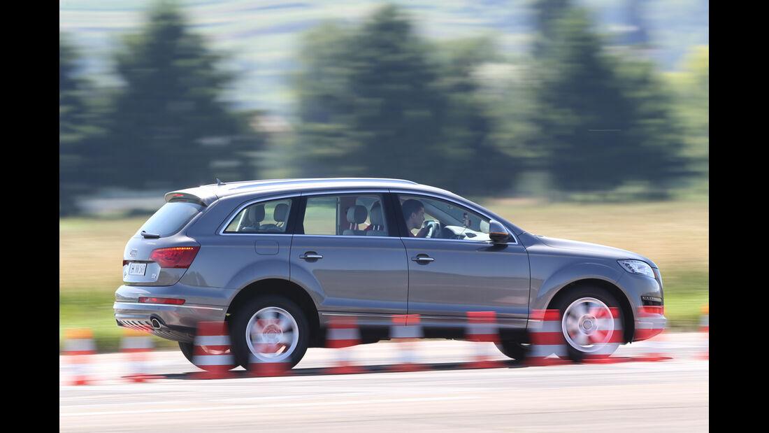 Audi Q7 3.0 TDI, Bremstest