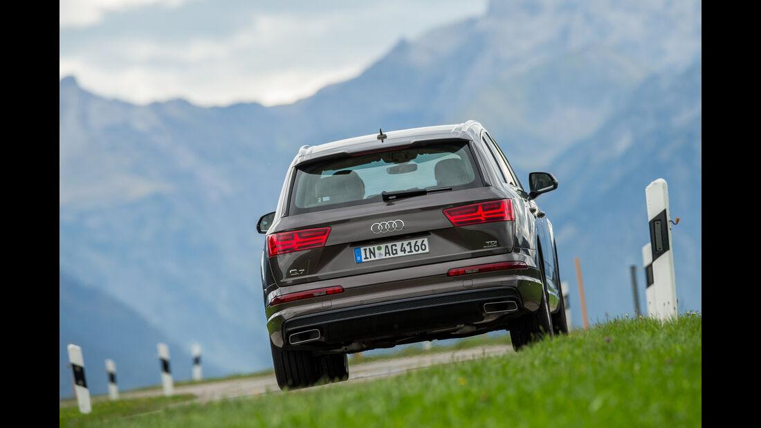 Audi Q7 3.0 TDI, Heckansicht