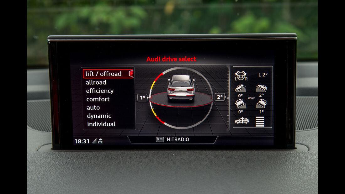 Audi Q7 3.0 TDI, Infotainment, Monitor