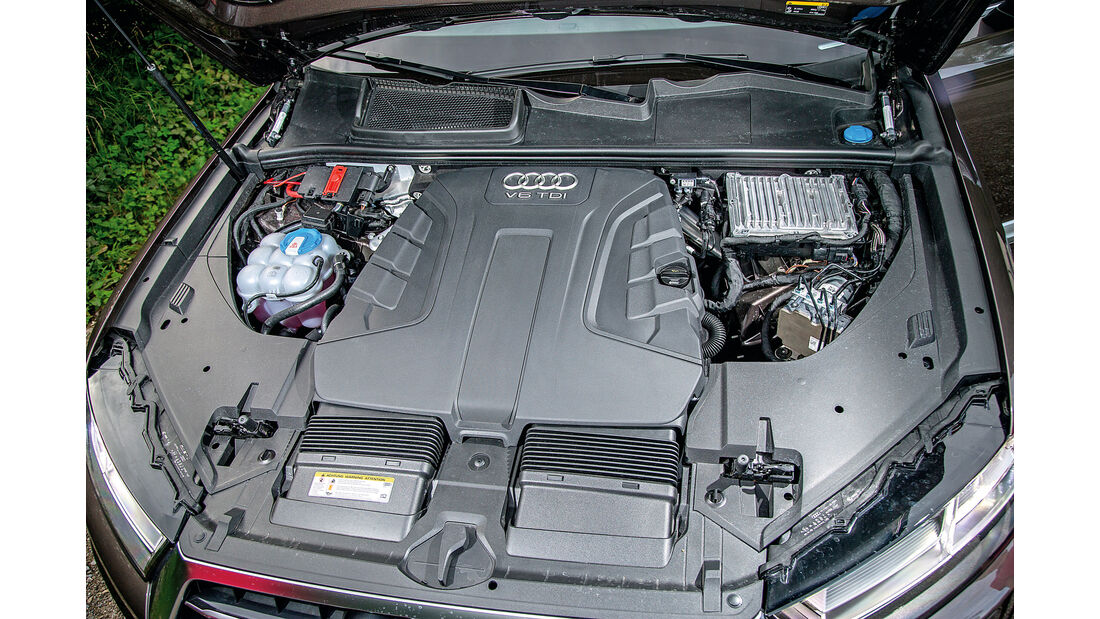 Audi Q7 3.0 TDI, Motor