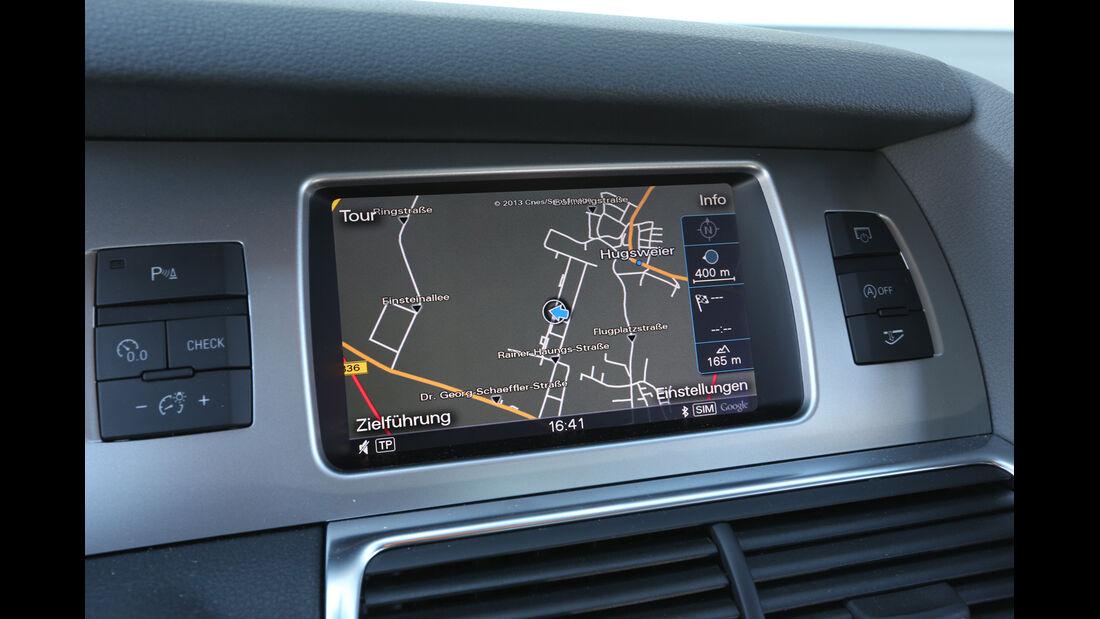 Audi Q7 3.0 TDI, Navi