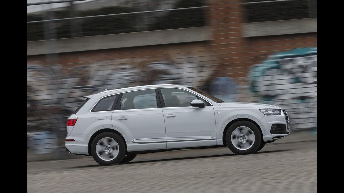 Audi Q7 3.0 TDI Quattro, Exterieur Seite