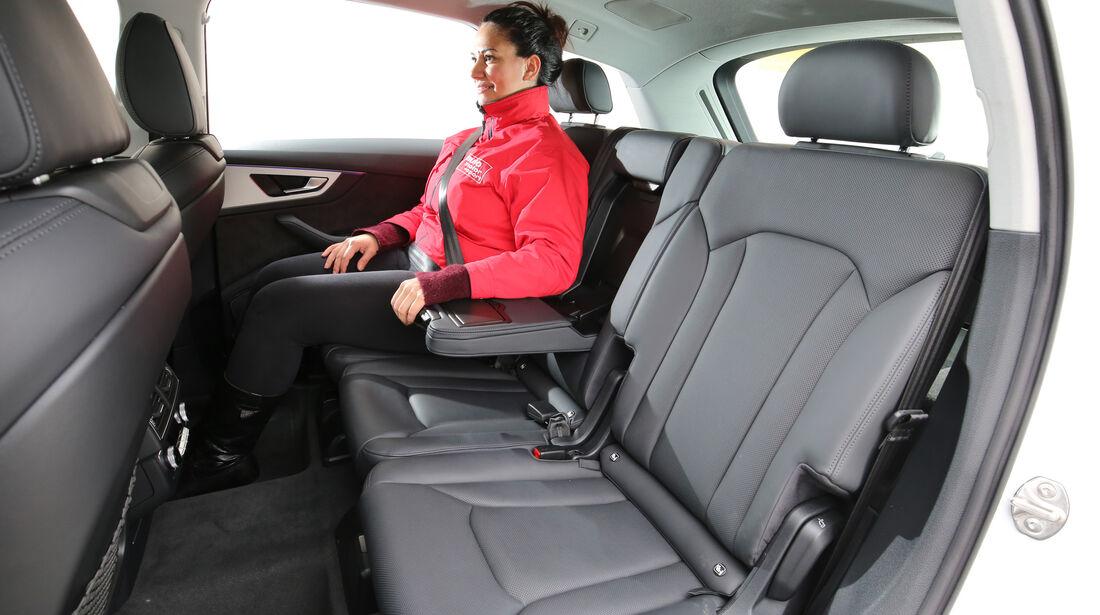 Audi Q7 3.0 TDI Quattro, Fondsitze
