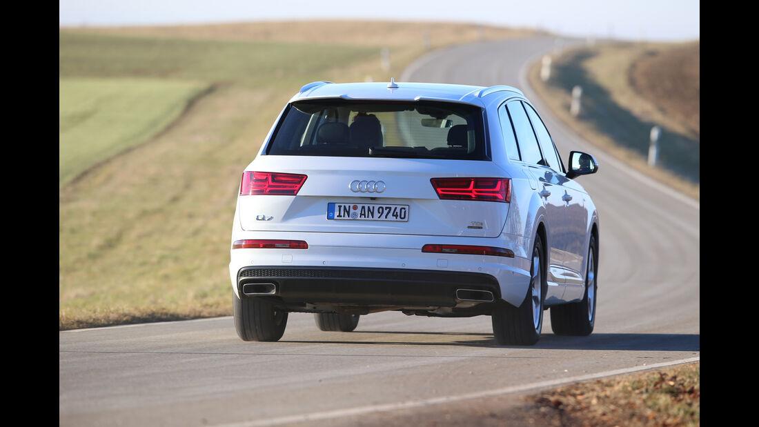 Audi Q7 3.0 TDI Quattro, Heckansicht