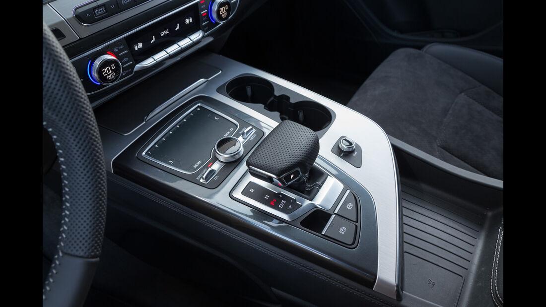 Audi Q7 3.0 TDI Quattro, Schalthebel