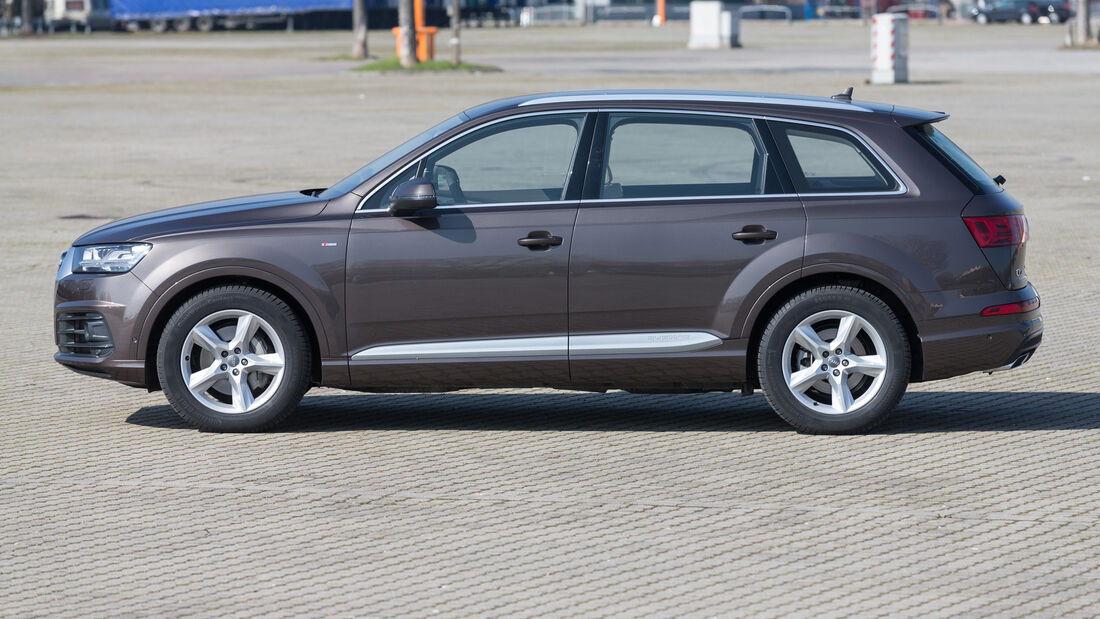 Audi Q7 3.0 TDI Quattro, Seitenansicht
