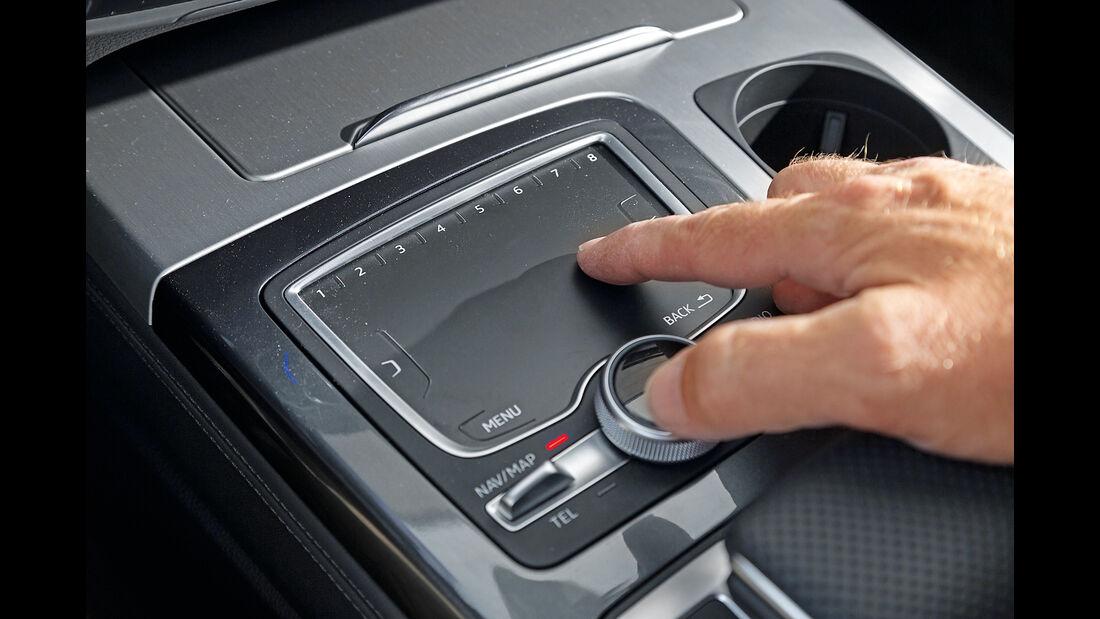 Audi Q7 3.0 TDI Quattro, Touchpad