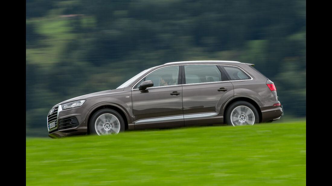 Audi Q7 3.0 TDI, Seitenansicht