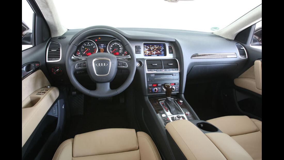 Audi Q7 3.0 TFSI Quattro, Innenraum, Cockpit