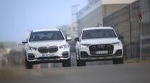 Audi Q7 60 TFSI e, BMW X5 45e, Exterieur