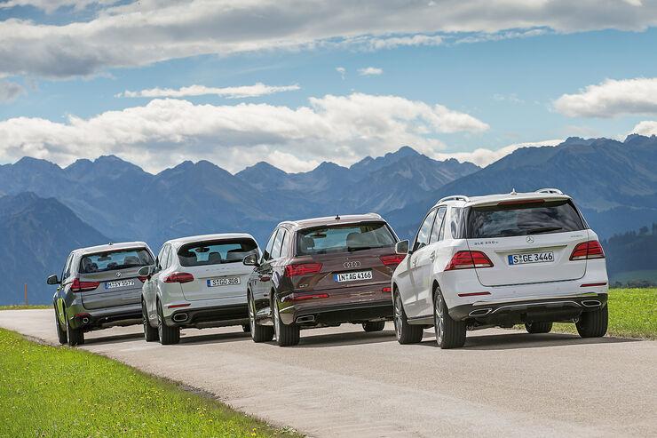 Cayenne Vs Range Rover Vs Audi Q7 | Autos Post