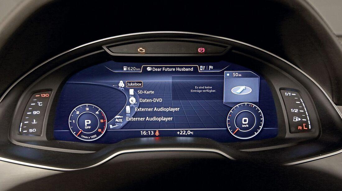 Audi Q7 Infotainment und Bedienung