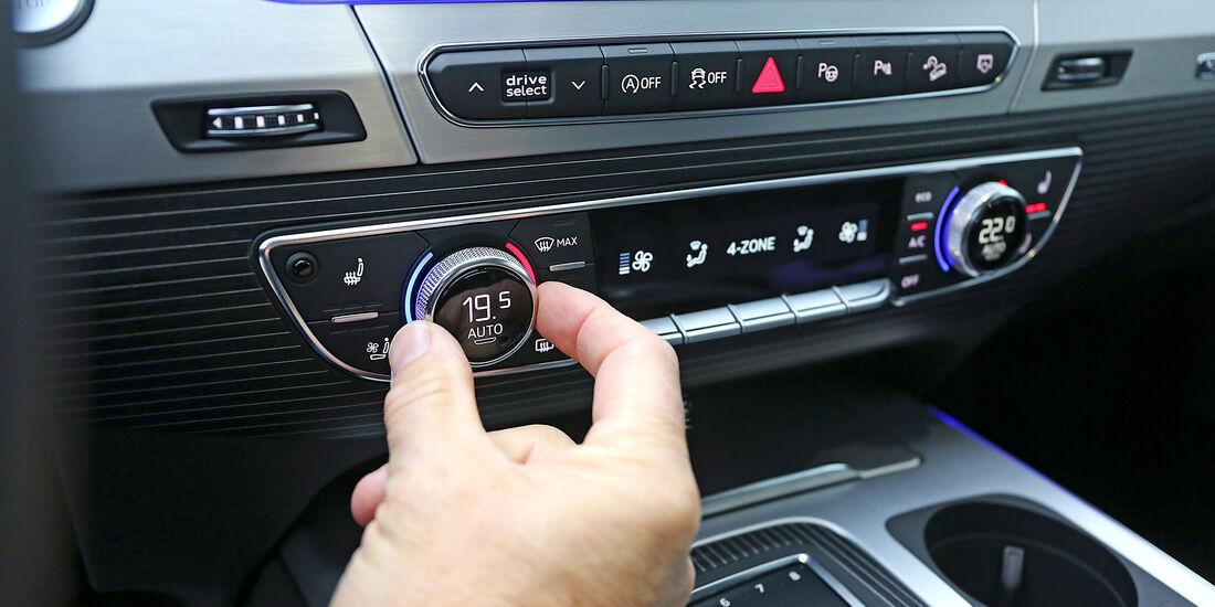 Audi Q7, Interieur