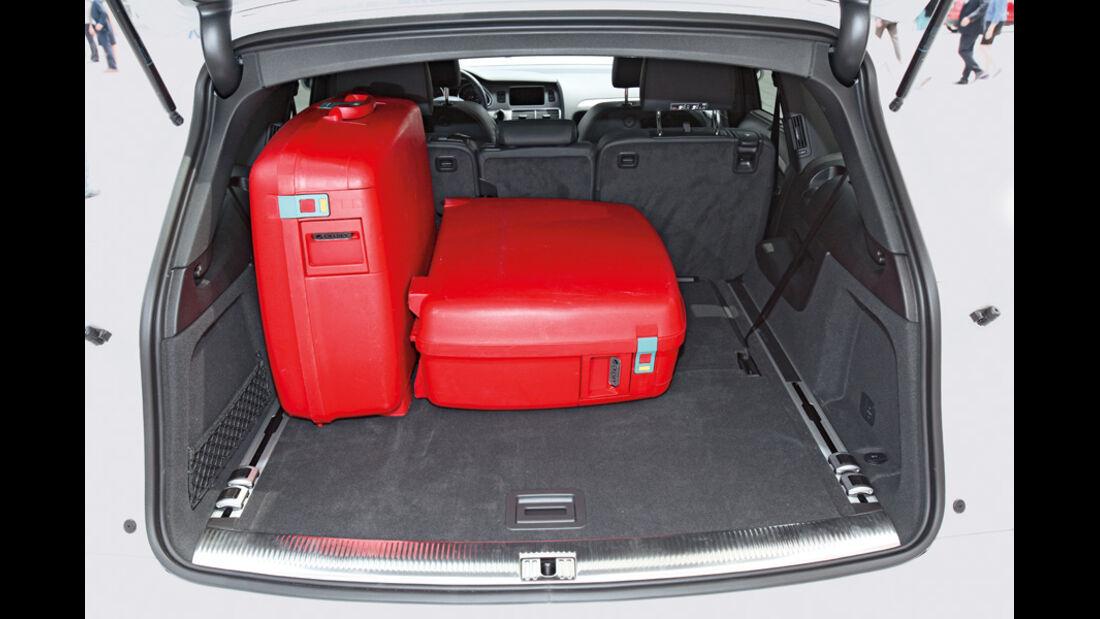 Audi Q7, Kofferraum