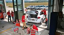 Audi Q7, Land Rover Discovery, Mercedes ML, Porsche Cayenne, VW Touareg