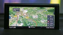 Audi Q7, Navi, Bildschirm